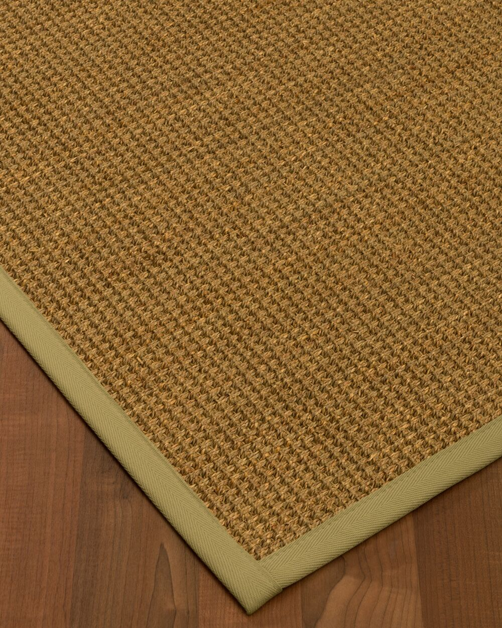 Chavez Border Hand-Woven Beige/Natural Area Rug Rug Size: Rectangle 6' x 9', Rug Pad Included: Yes