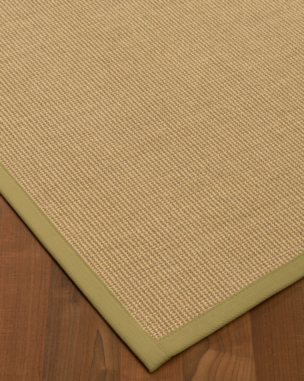 Atwell Border Hand-Woven Beige Area Rug Rug Size: Rectangle 6' x 9', Rug Pad Included: Yes