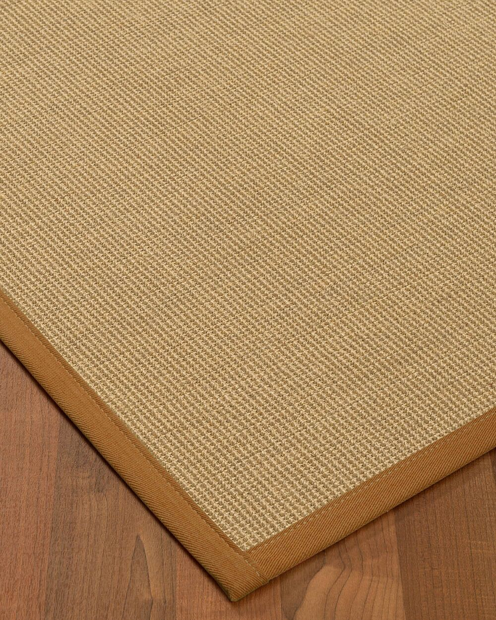Atwell Border Hand-Woven Beige/Brown Area Rug Rug Size: Rectangle 12' x 15', Rug Pad Included: Yes