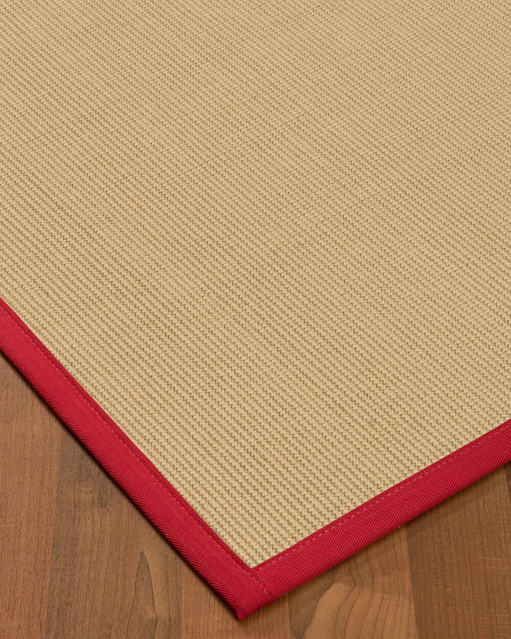 Vannatta Border Hand-Woven Wool Beige/Red Area Rug Rug Size: Rectangle 9' x 12', Rug Pad Included: Yes