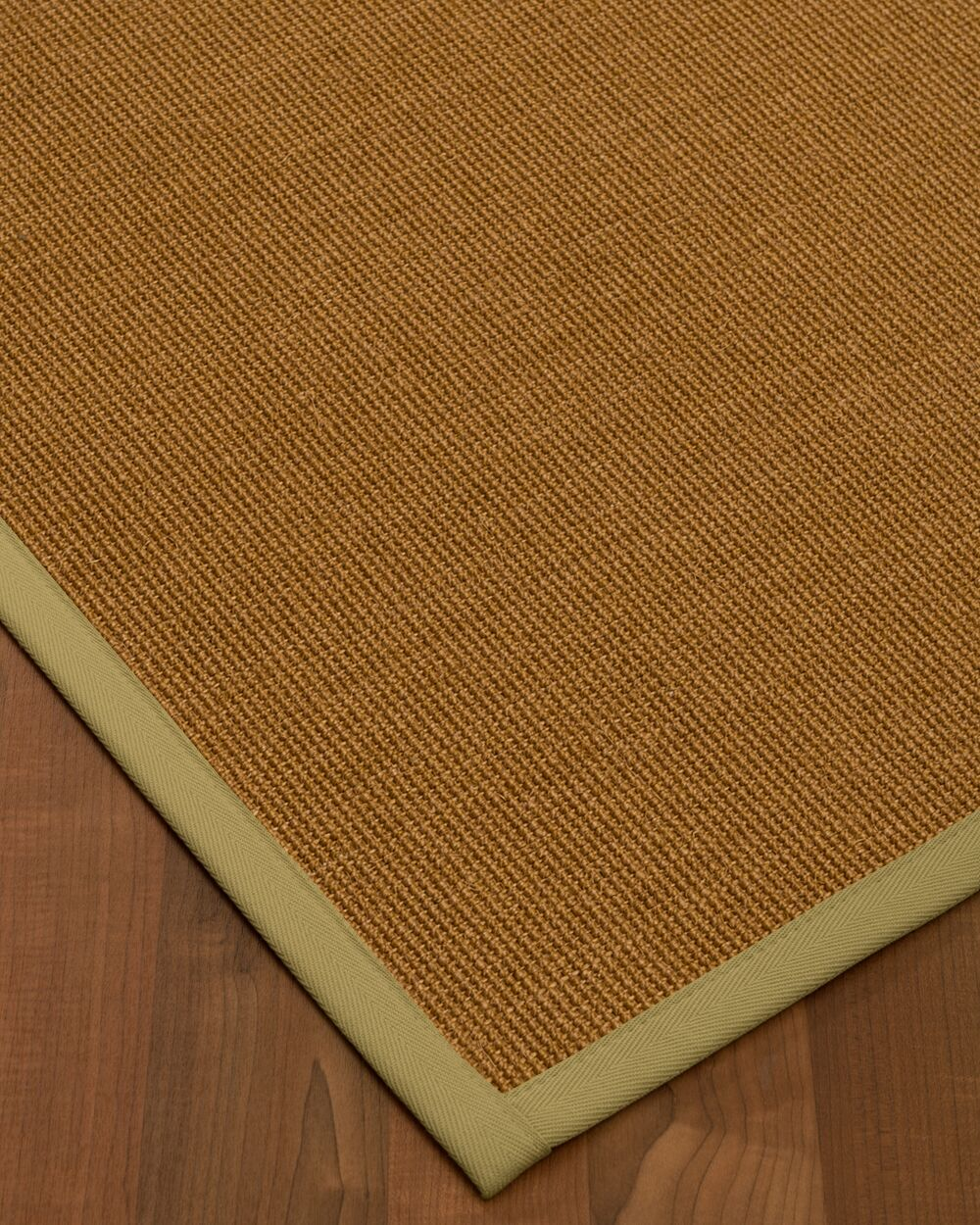 Antonina Border Hand-Woven Brown/Beige Area Rug Rug Size: Rectangle 6' x 9', Rug Pad Included: Yes