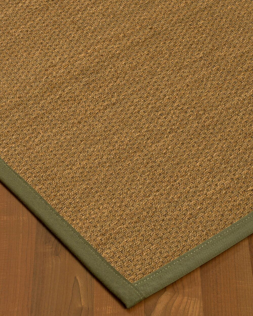 Chavis Border Hand-Woven Beige/Fossil Area Rug Rug Size: Rectangle 12' x 15', Rug Pad Included: Yes