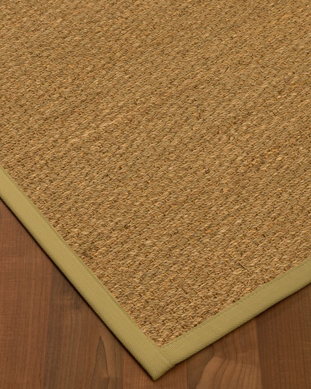 Anya Border Hand-Woven Beige/Sand Area Rug Rug Size: Rectangle 12' x 15', Rug Pad Included: Yes