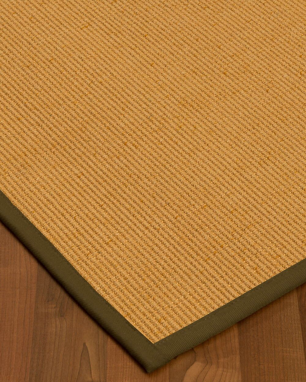 Vannatter Border Hand-Woven Beige/Malt Area Rug Rug Size: Rectangle 12' x 15', Rug Pad Included: Yes