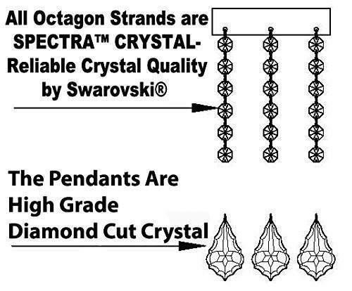 Poynter 25-Light Shaded Chandelier Shade Color: Black, Crystal: Empress Crystal, Finish: Gold