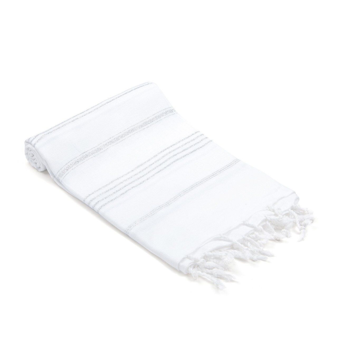 Turkish Hand Towel Color: Silver