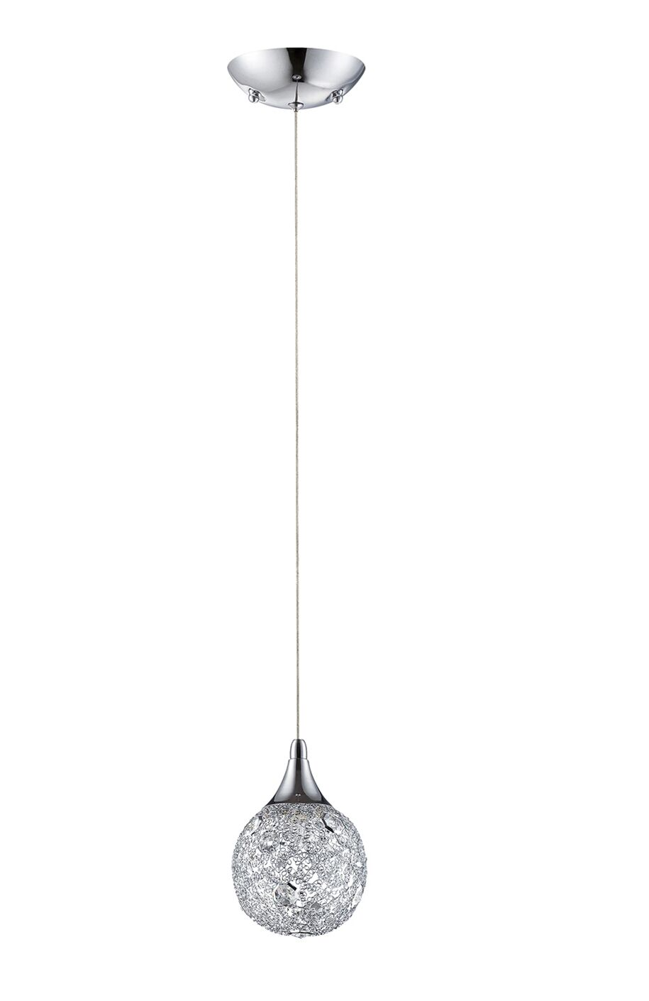 Hoban 1-Light Globe Pendant