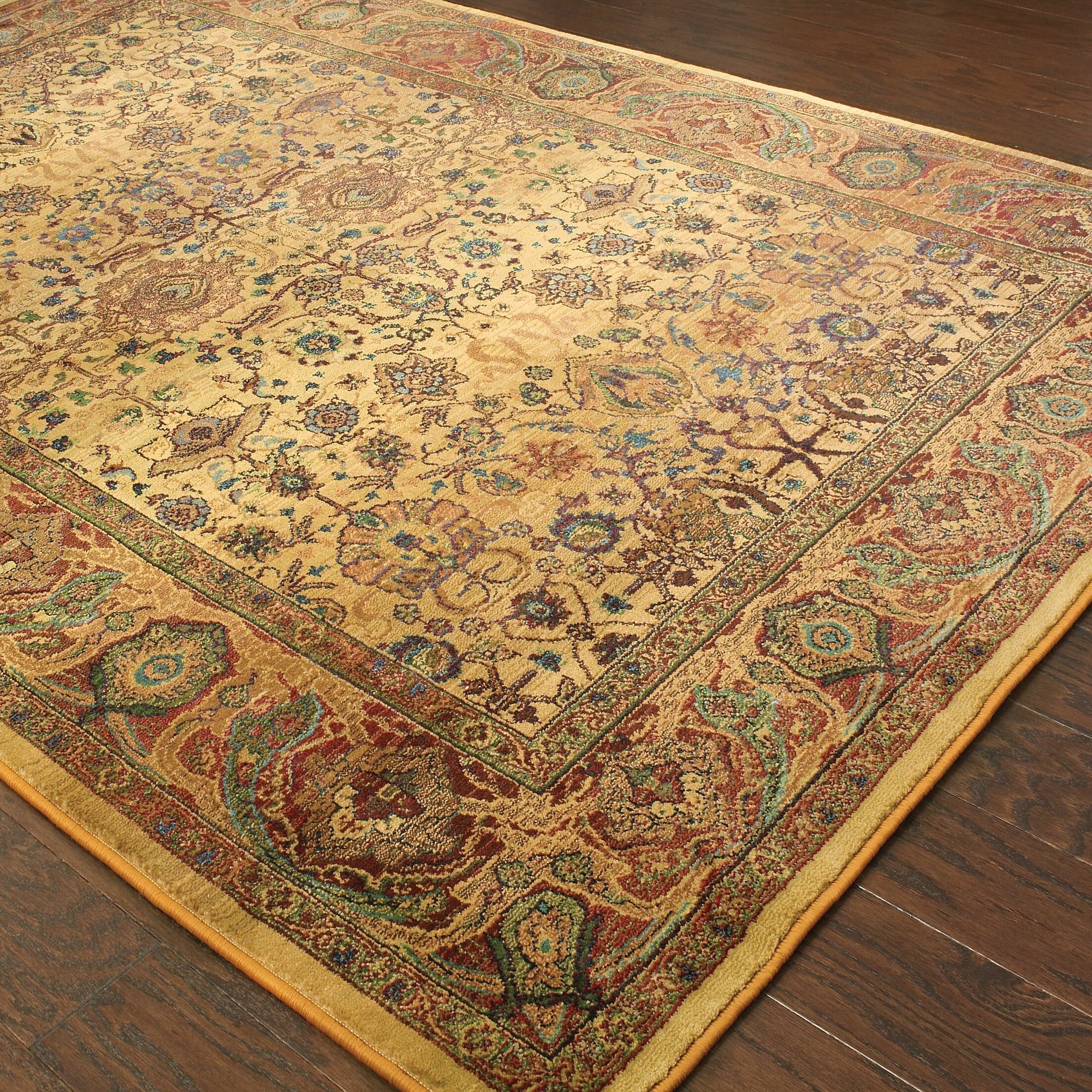 Pressley Brown Area Rug Rug Size: Rectangle 5'3