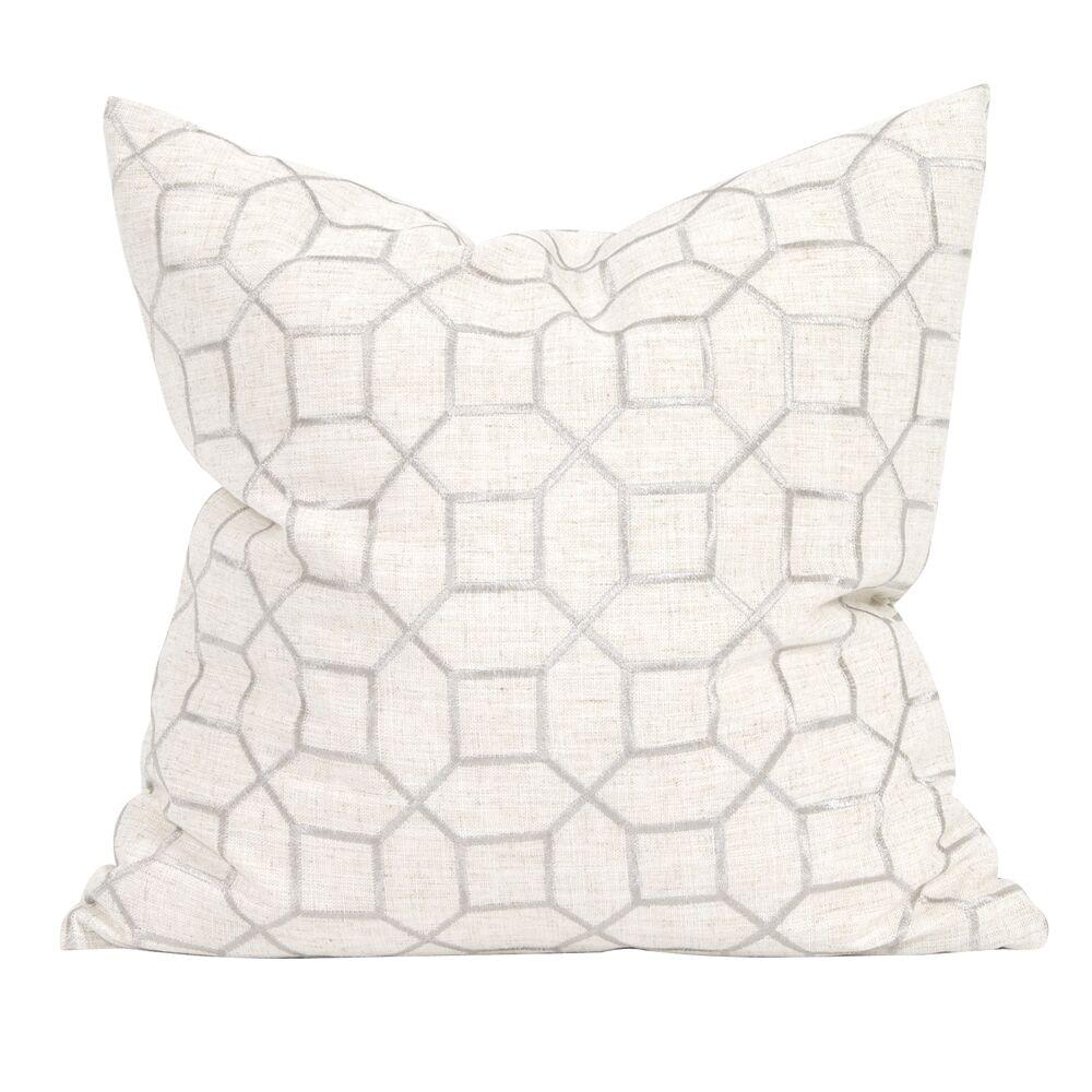 Drumrankin Trellis Throw Pillow Size: 24