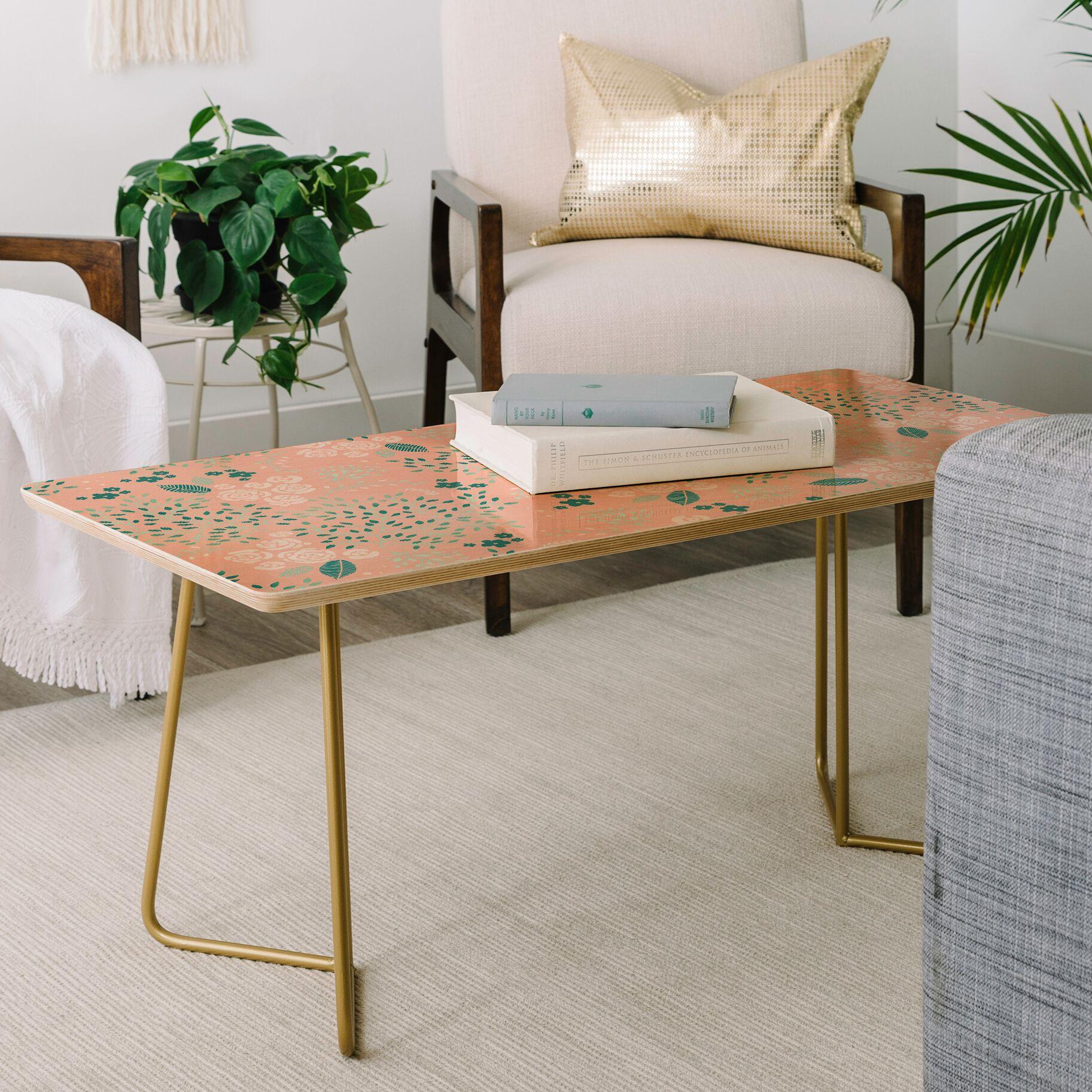 Iveta Abolina Camellia Garden Coffee Table