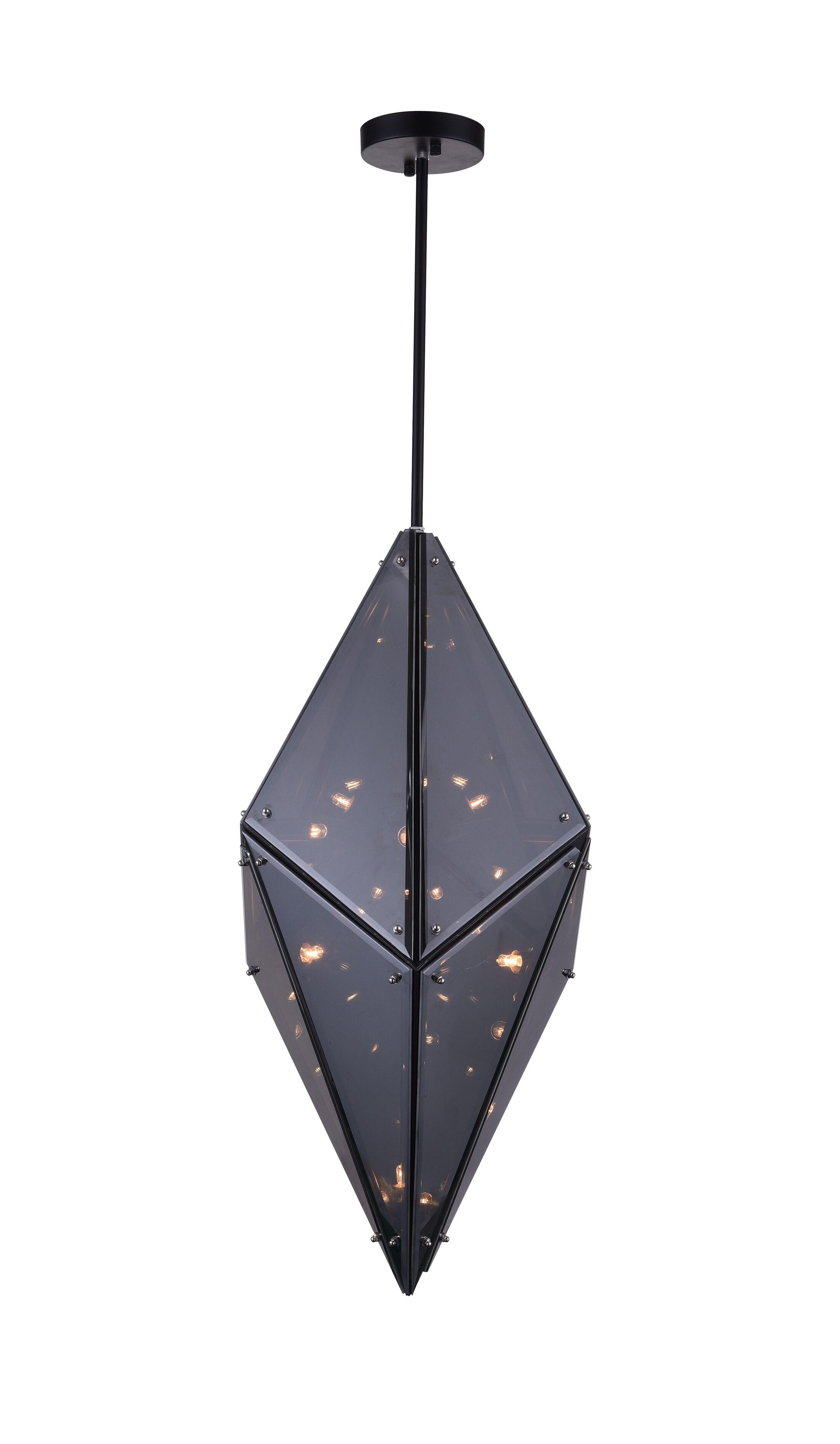 Pento 8-Light Pendant Size: 29
