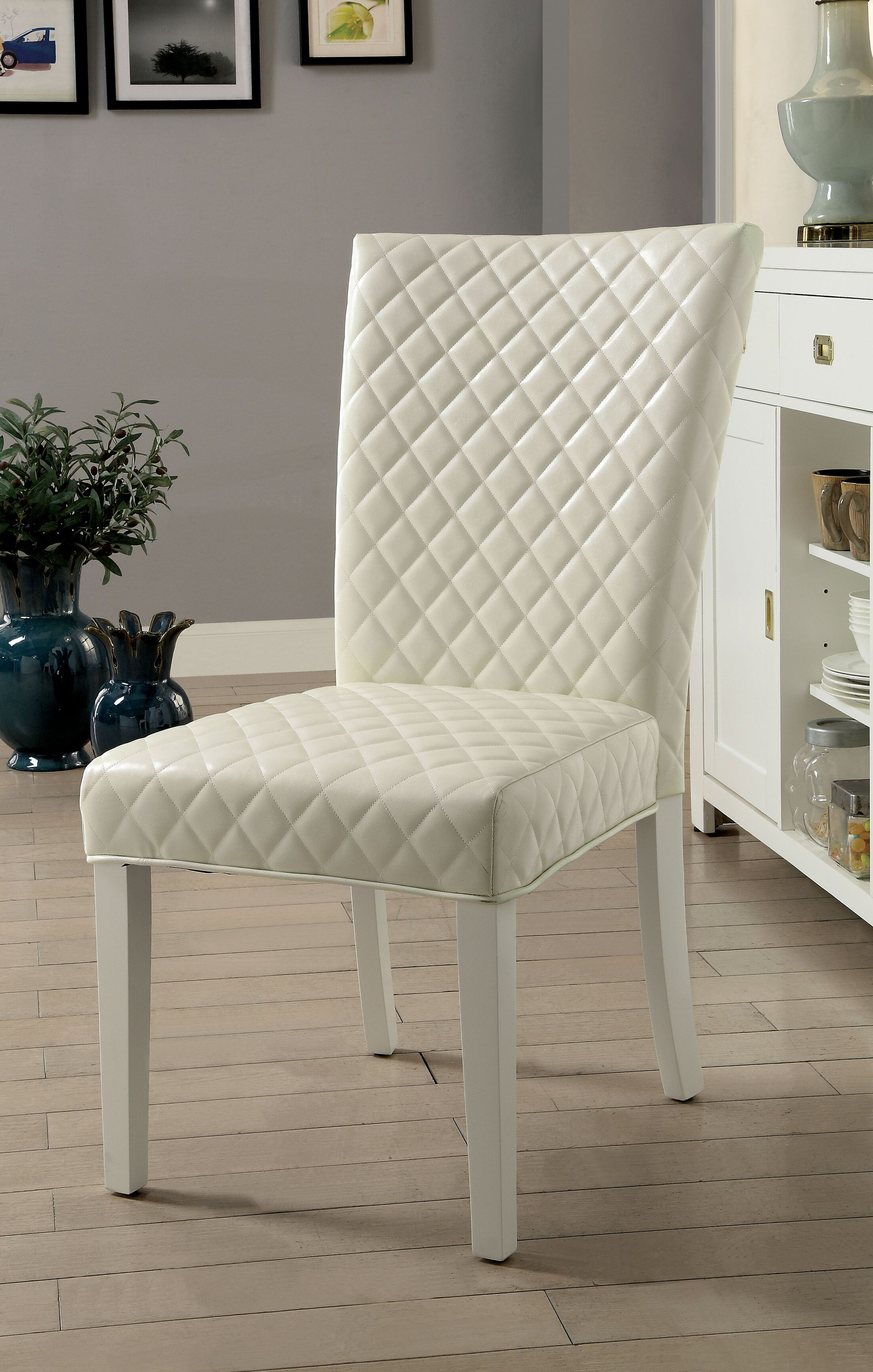 Karg Contemporary Upholstered Dining Chair