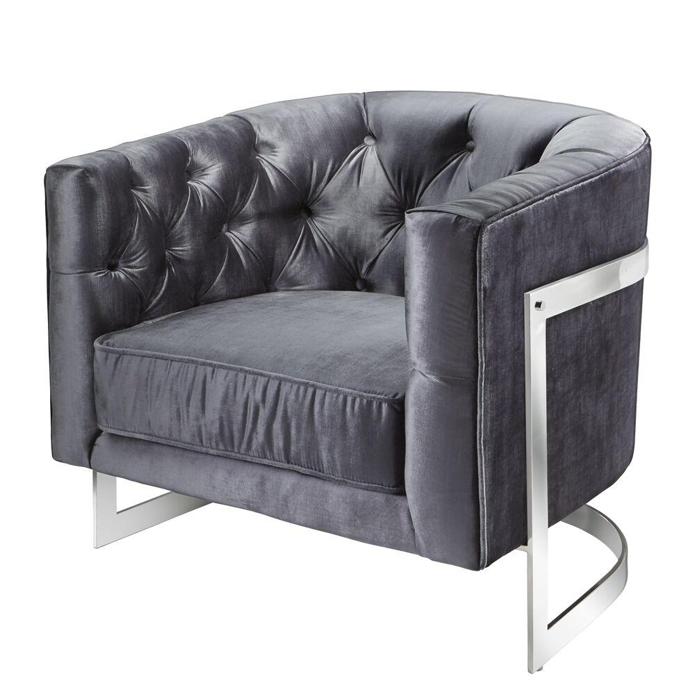 Kincheloe Modern Style Barrel Chair