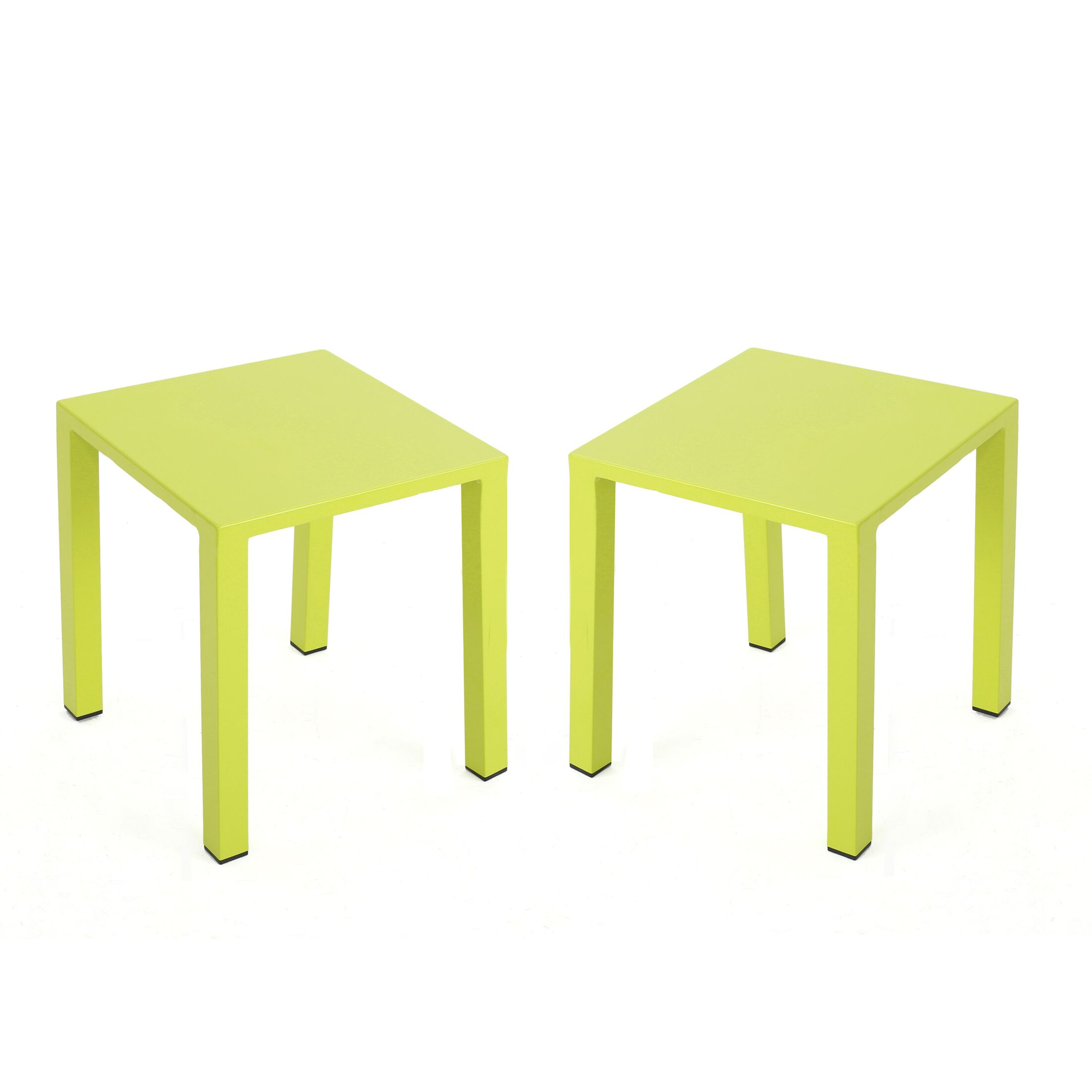 Chilson End Table Color: Green