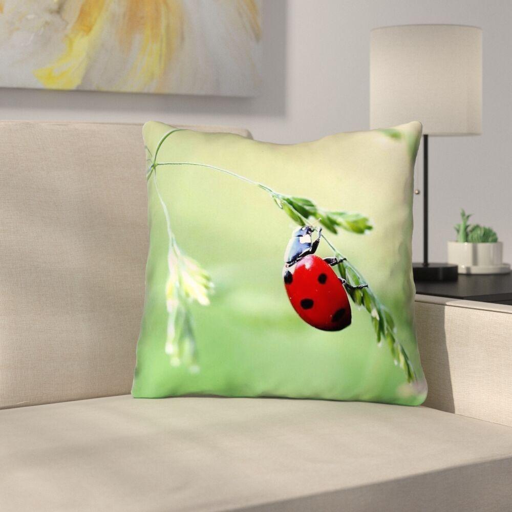Duriel Square Throw Pillow Size: 20