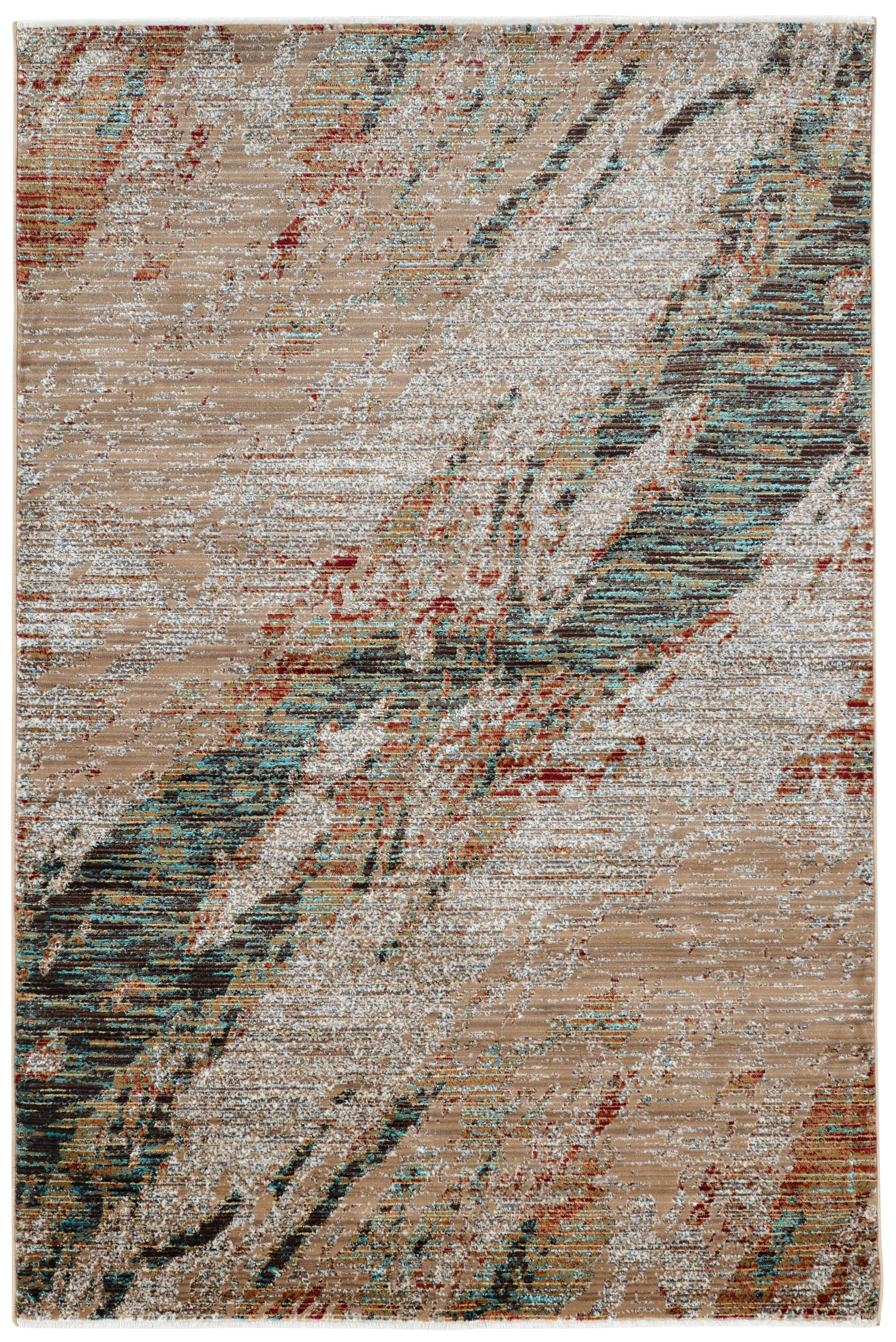 Crittenden Marble Beige Area Rug Rug Size: Rectangle 3' x 5'