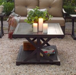 Bungalow Aluminum Coffee Table