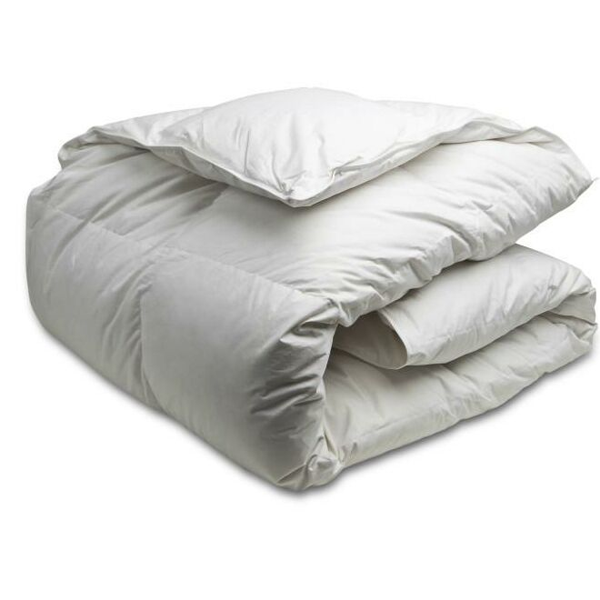 White Down Duvet Size: King XL, Fill Warmth: Summer