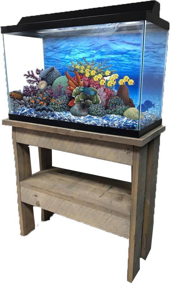 Rustic Series Cabinet Aquarium Stand Size: 31