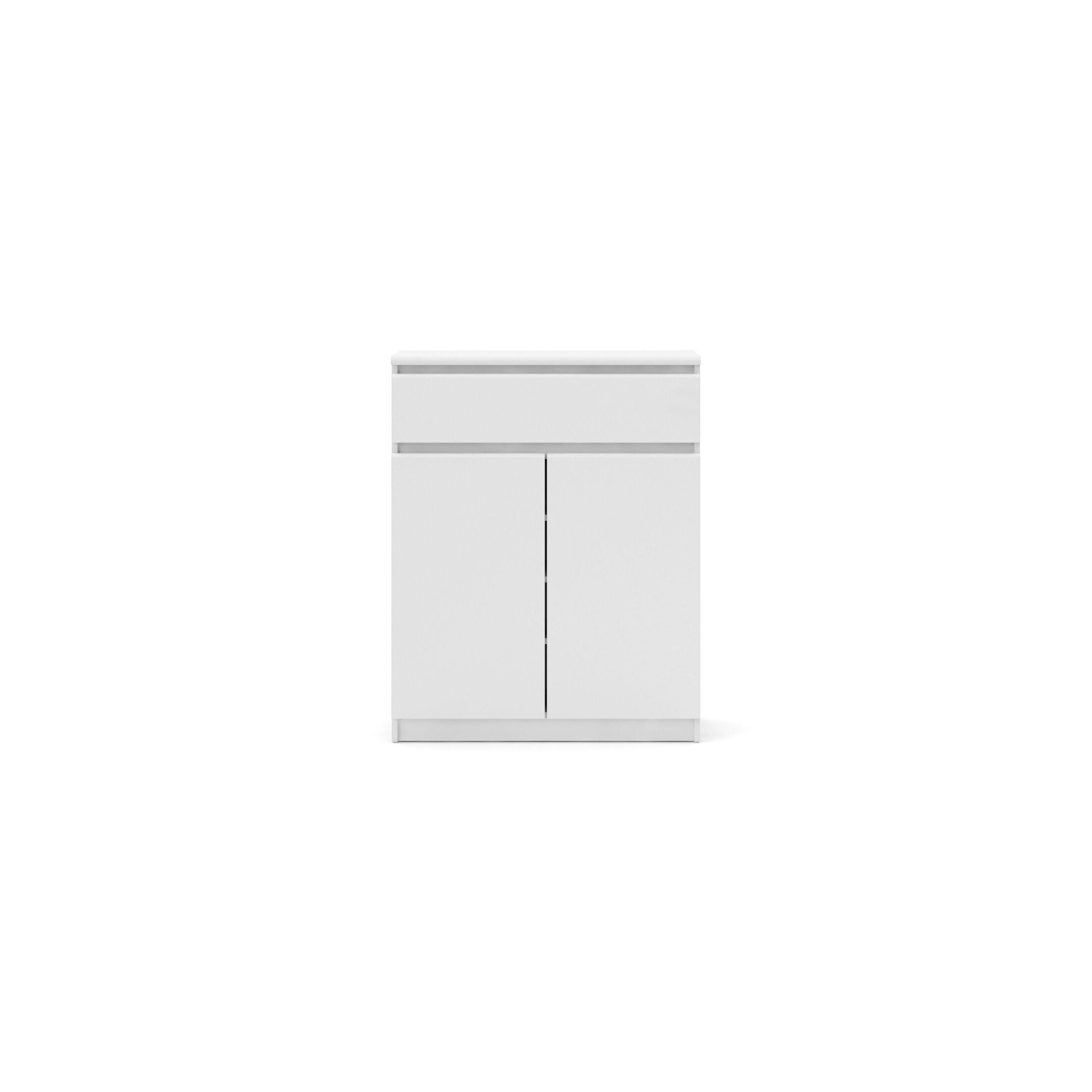 Kepner 1 Drawer and 2 Door Armoire