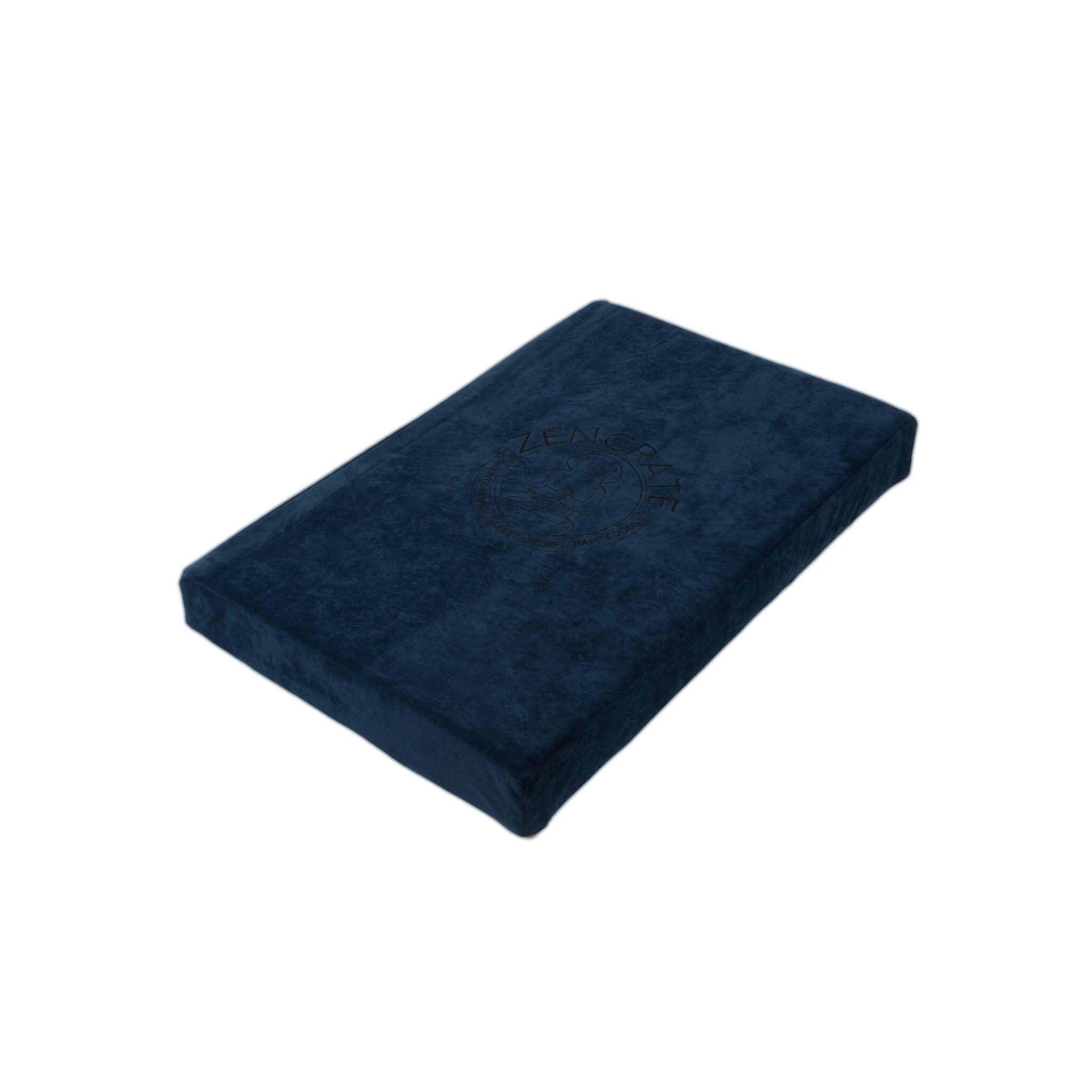 Waterproof Memory Foam Dog Bed Color: Navy