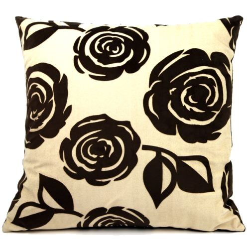 Knarr Flowers Throw Pillow