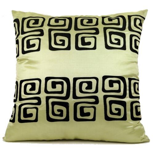 King Greek Key Throw Pillow