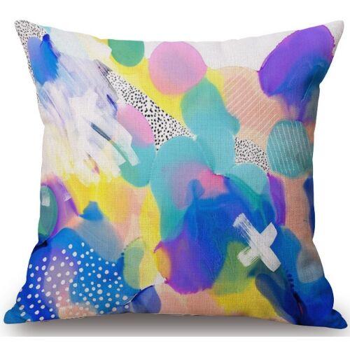Kirts Linen Throw Pillow