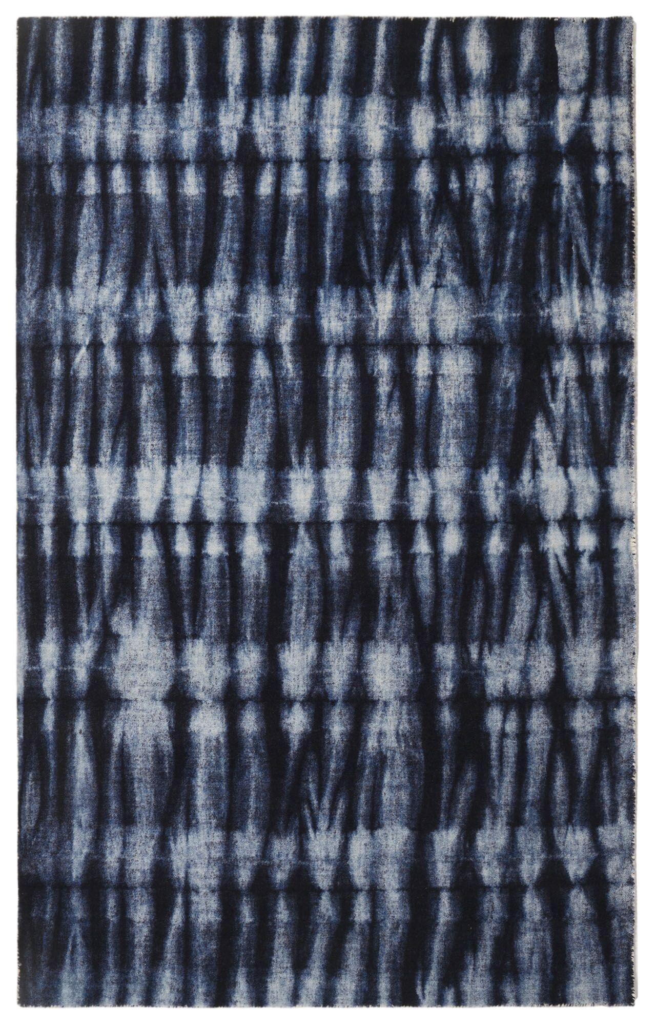 Freetown Resist Contemporary Modern Navy Area Rug Rug Size: Rectangle 7'6