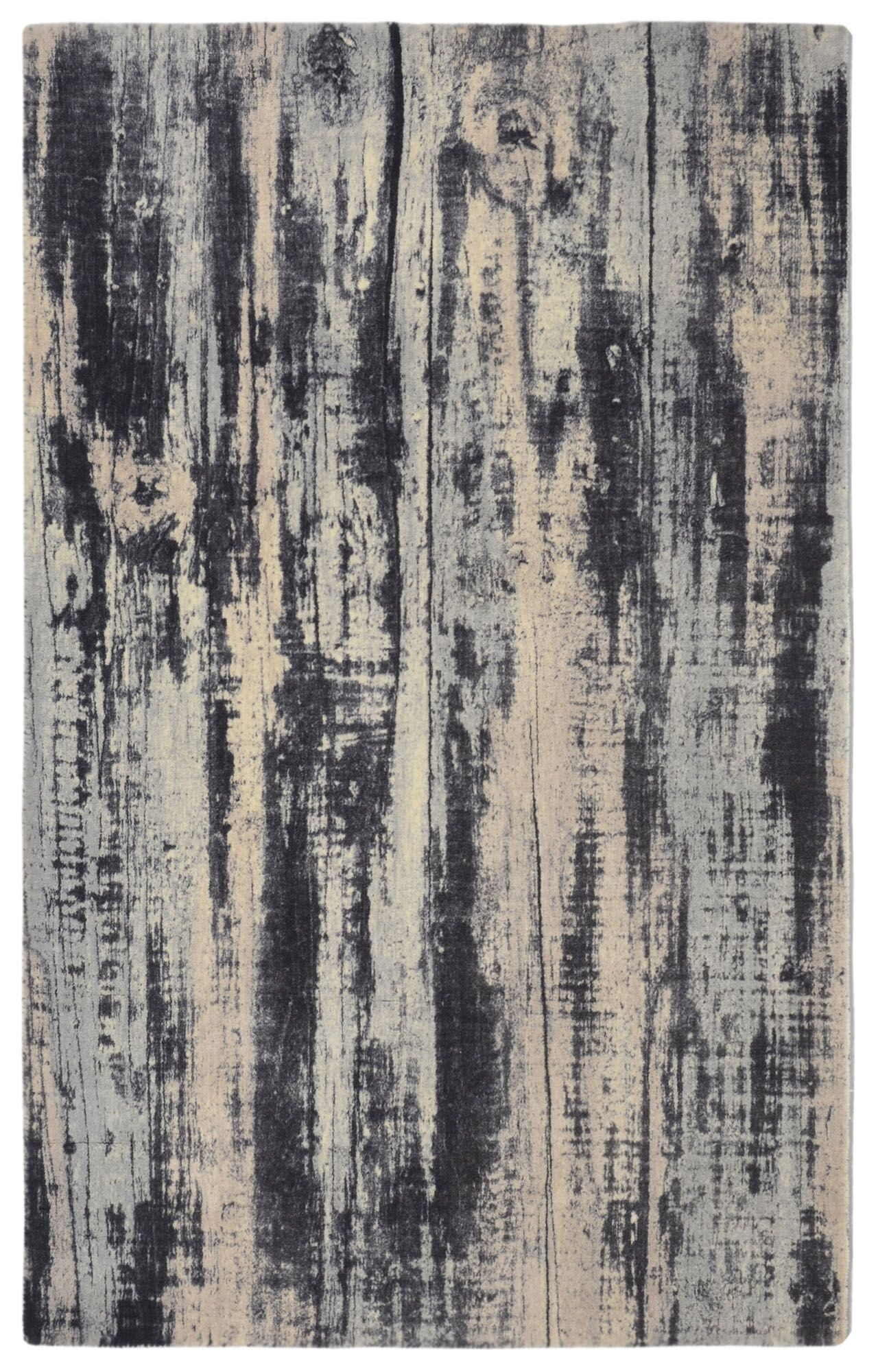 Labombard Contemporary Modern Gray/Beige Area Rug Rug Size: Rectangle 5' x 7'