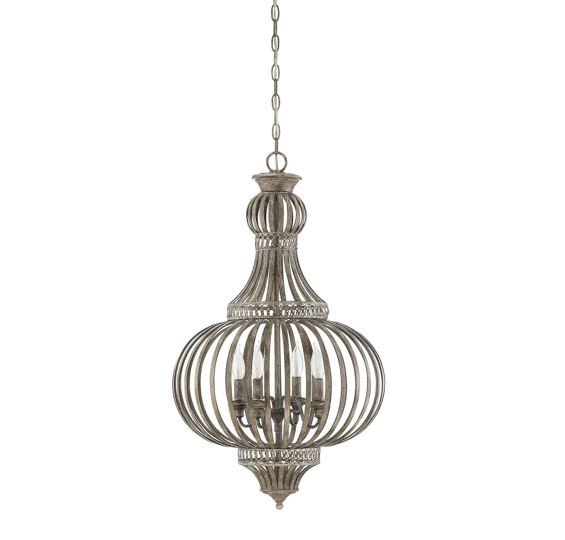Botsford 4-Light Globe Chandelier