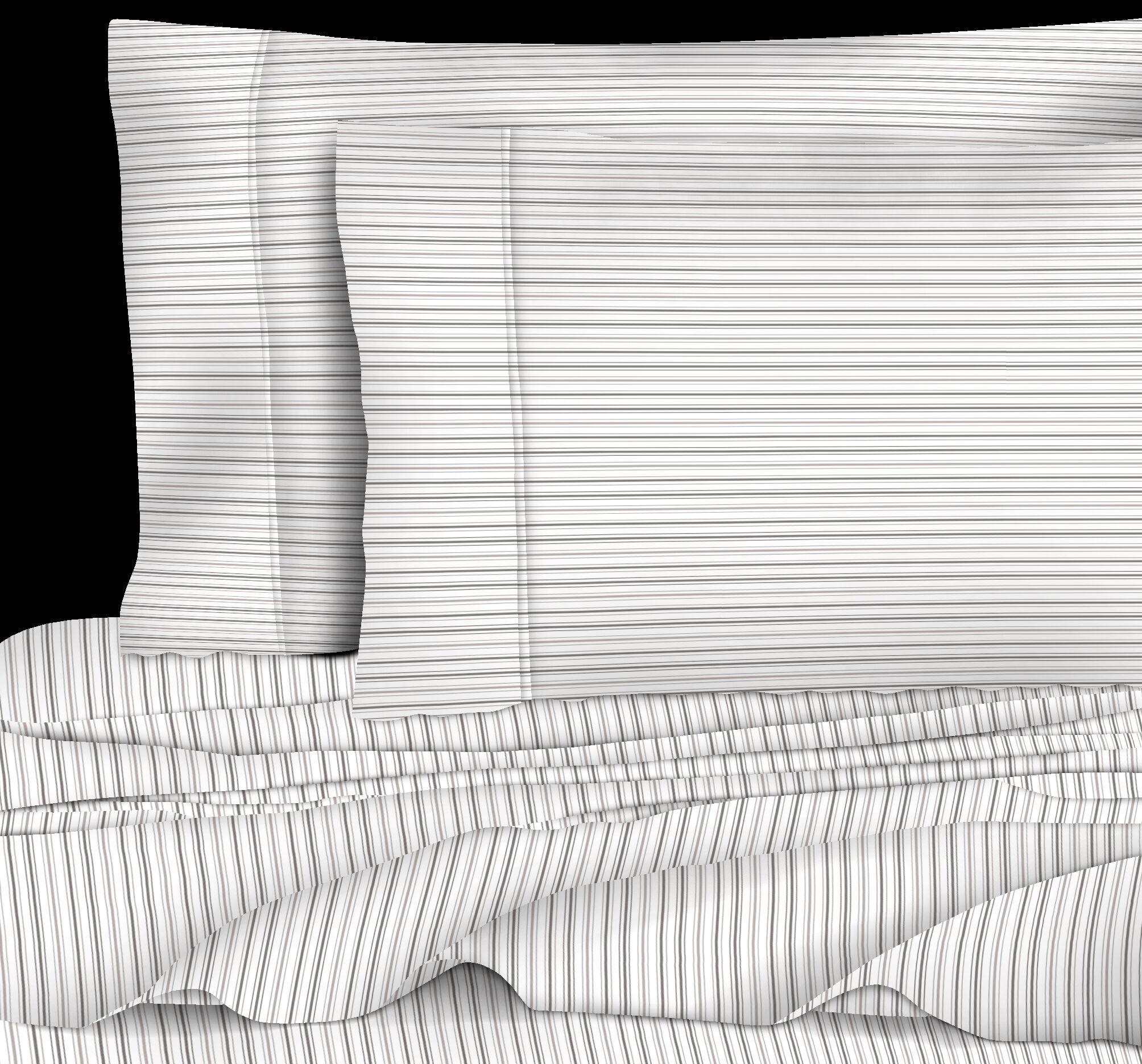 Crose 400 Thread Count 100% Cotton Sheet Set Size: Full