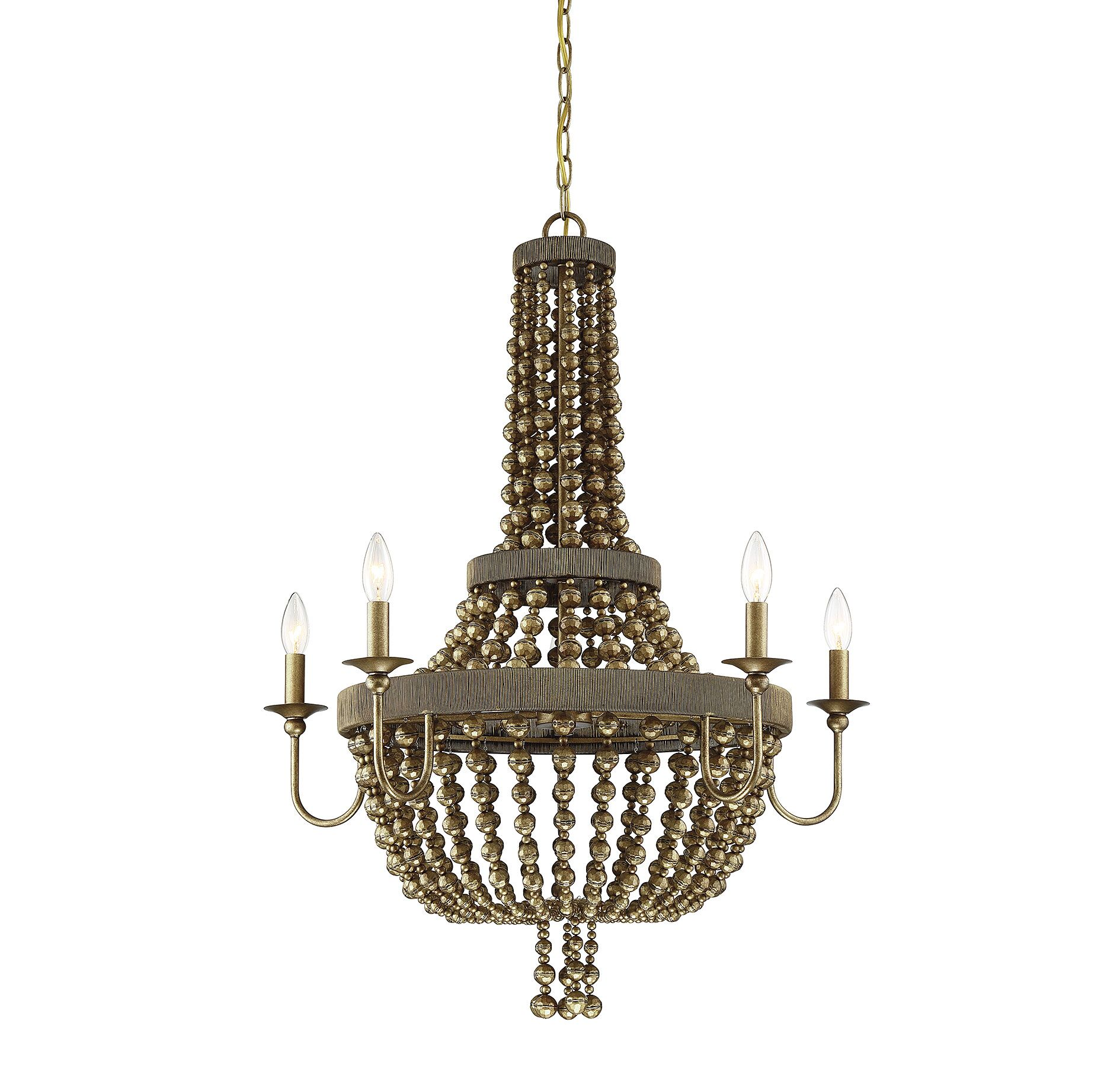 Pericles 5-Light LED Empire Chandelier