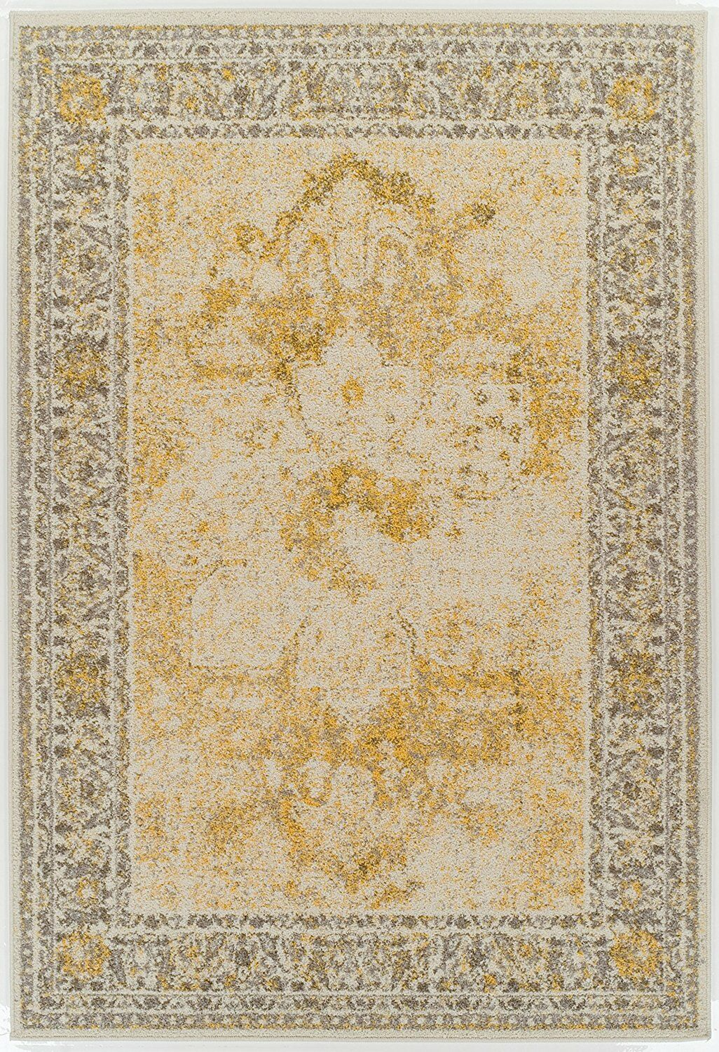 Arvidson Wool Yellow Indoor/Outdoor Area Rug Rug Size: Rectangle 8' x 11'