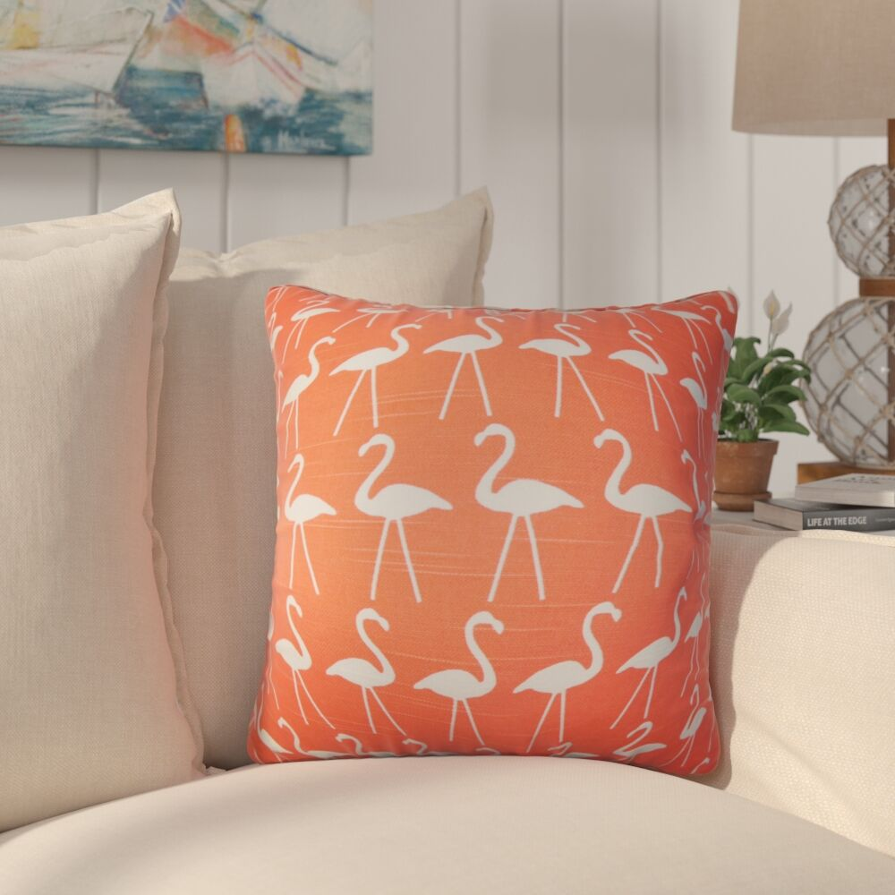 Supriya Animal Print Cotton Throw Pillow