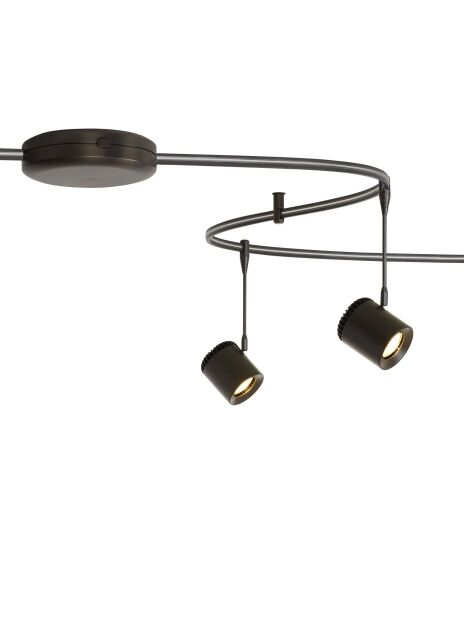 Monorail Pass Through Surface LED 250W 12V Electronic Transformer Finish: Antique Bronze
