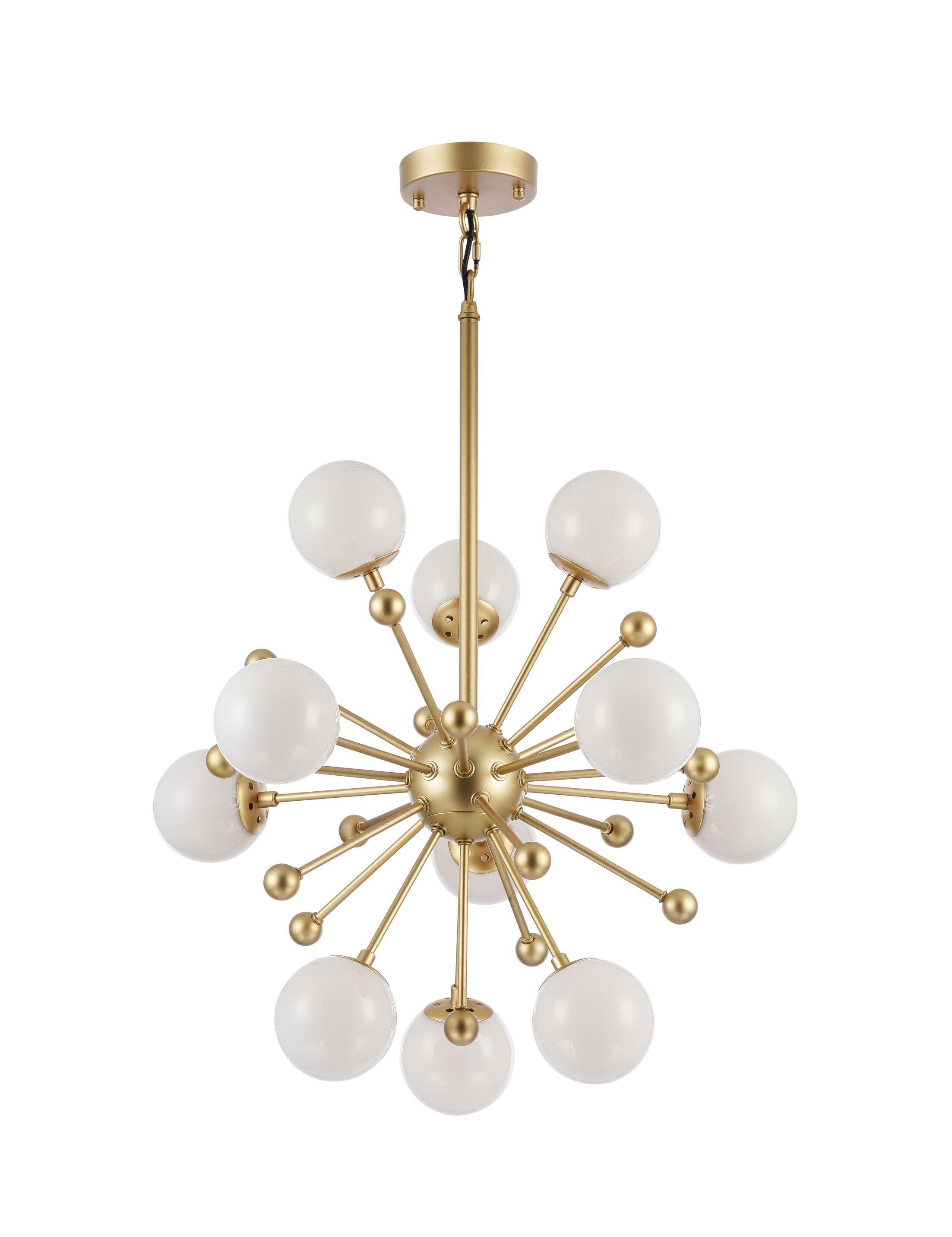 Cosme 11-Light Sputnik Chandelier