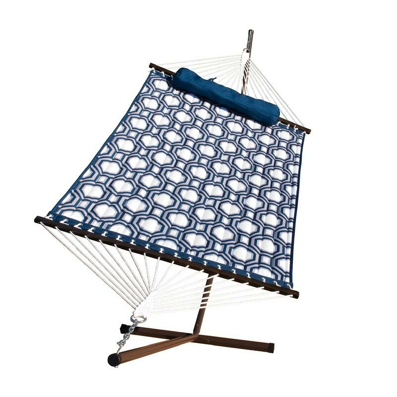 Stinson Quilted Hammock with Stand