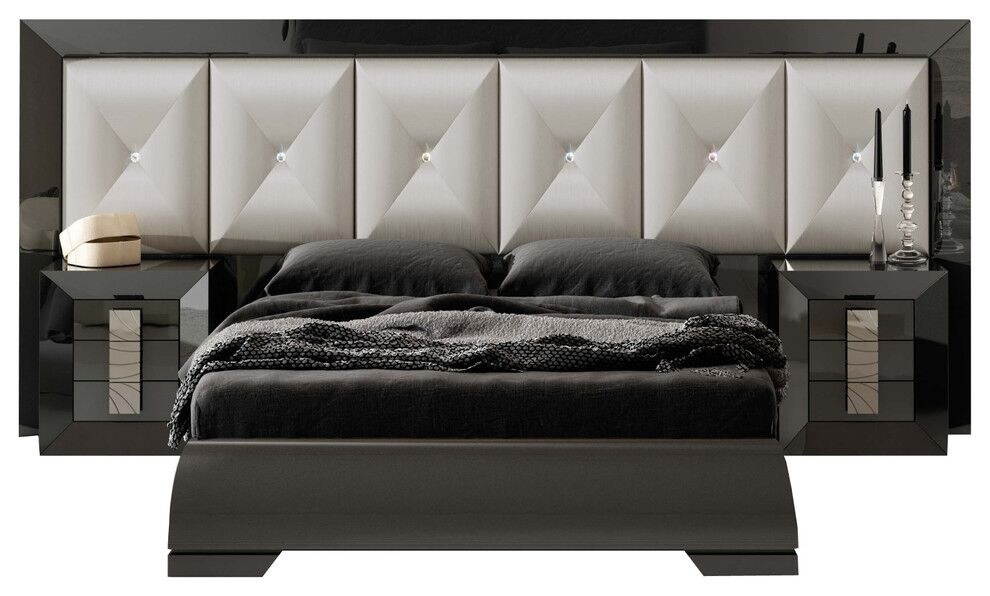 Komar Special Headboard Panel 4 Piece Bedroom Set Size: King
