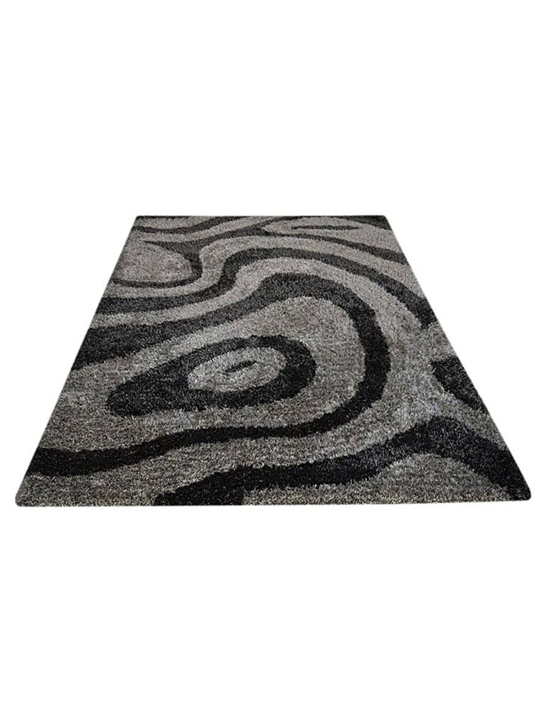Ry Hand-Woven Gray/White Indoor/Outdoor Area Rug Rug Size: Rectangle 6' x 9'