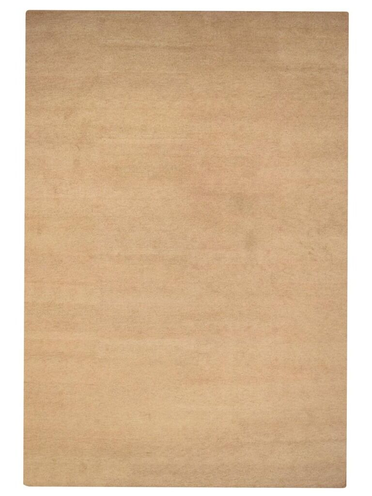Sanford Solid Hand-Woven Beige Area Rug Rug Size: Rectangle9' x 12'