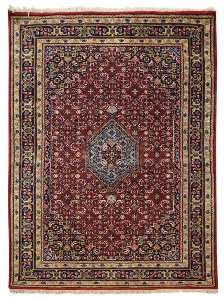 Shephard Hand-Woven Wool Red Area Rug Rug Size: Rectangle 1'3