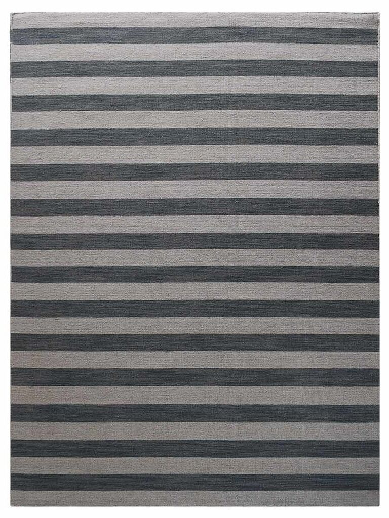 Cilegon Hand-Woven Wool Cream/Silver Area Rug Rug Size: Rectangle 9' x 12'