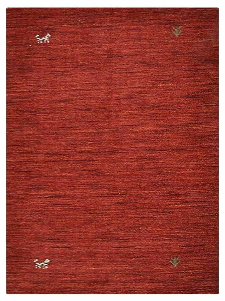 Cornish Hills Hand-Woven Wool Red Area Rug Rug Size: Rectangle 3' x 5'