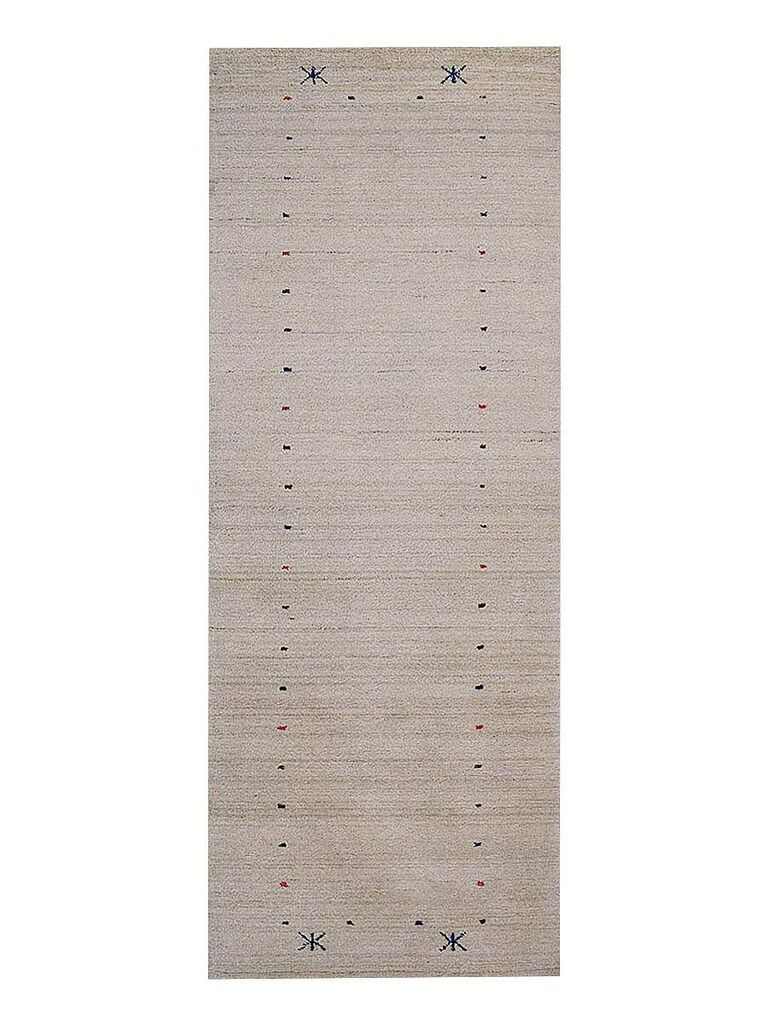 Maggiemae Hand-Woven Wool Beige Area Rug Rug Size: Runner 2'6