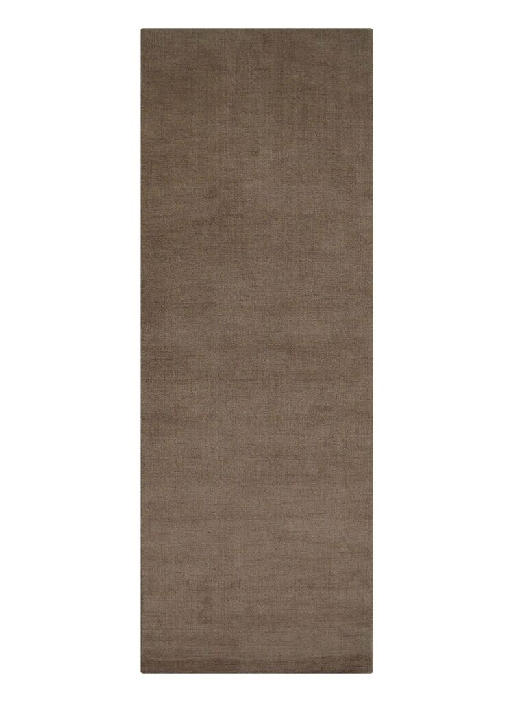 Woodhouse Hand-Woven Wool Beige Area Rug Rug Size: Runner 2'8