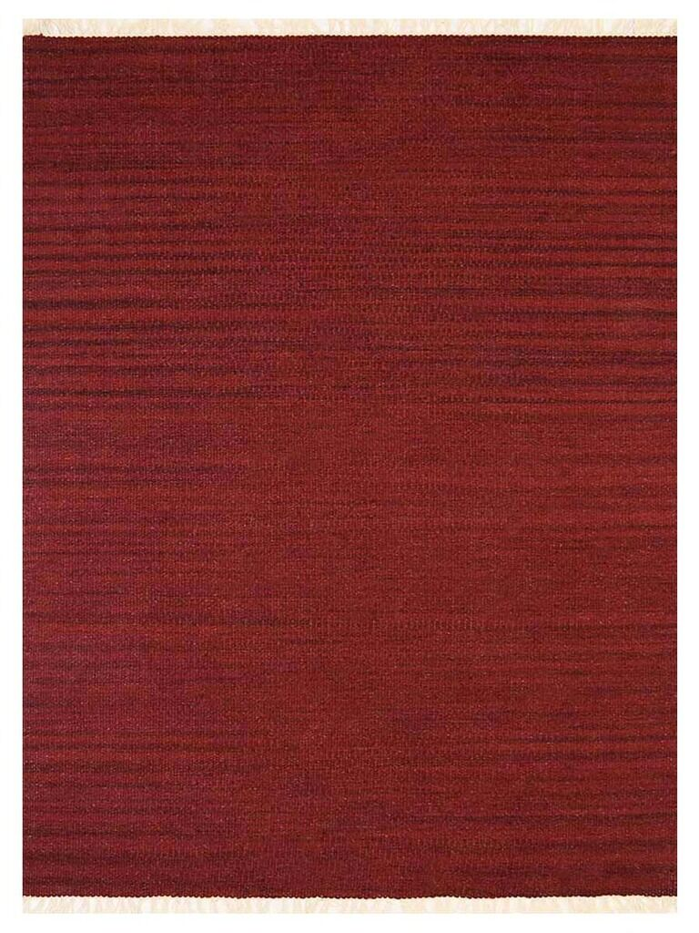 Costa Mesa Hand-Woven Burgundy Area Rug Rug Size: Rectangle 9' x 12'