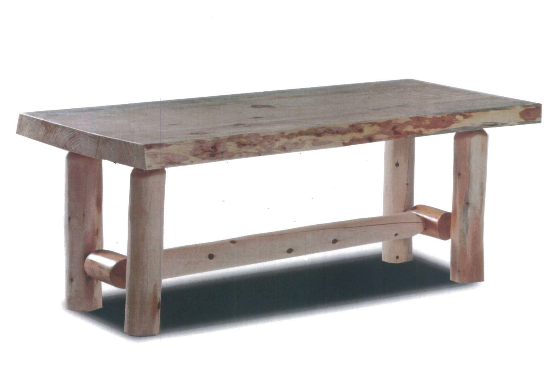 Pellston Log Coffee Table