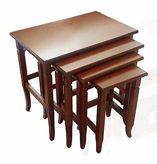 Chou 4 Piece Nesting Tables