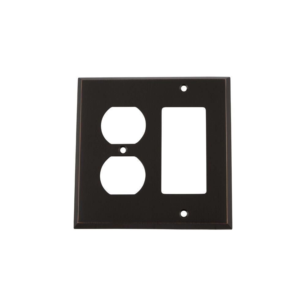 New York Light Switch Plate Finish: Timeless Bronze
